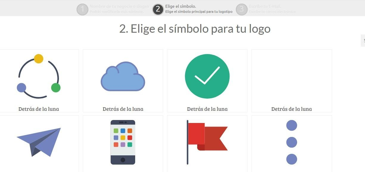 Pasos para diseñar logo para Youtube: elige el símbolo de tu logotipo