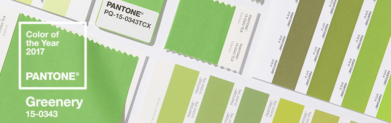 Nuevas tendencias diseño colores Pantone en 2017
